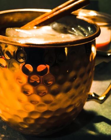 "The Caramel Cider ""Mule"""